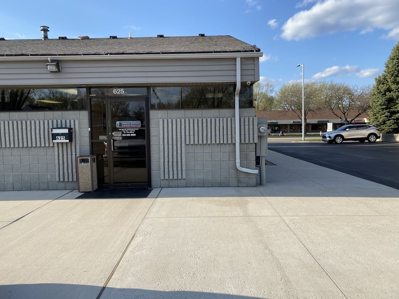 Absolute Wellness Chiropractic Entrance near Troy, Michigan